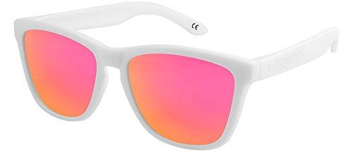 X-CRUZE 9-021 X01 Nerd Sonnenbrillen polarisiert Style Stil Retro Vintage Retro Unisex Herren Damen...