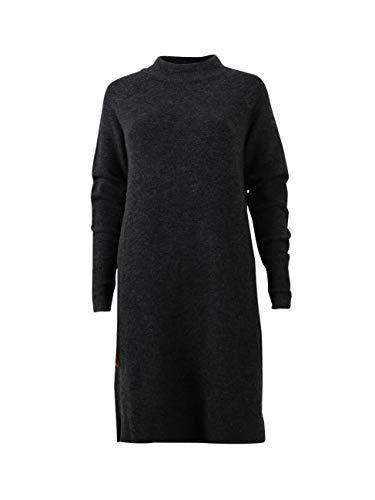 TOM TAILOR Denim für Frauen Kleider & Jumpsuits Schlichtes Strickkleid Shale Grey Melange, S