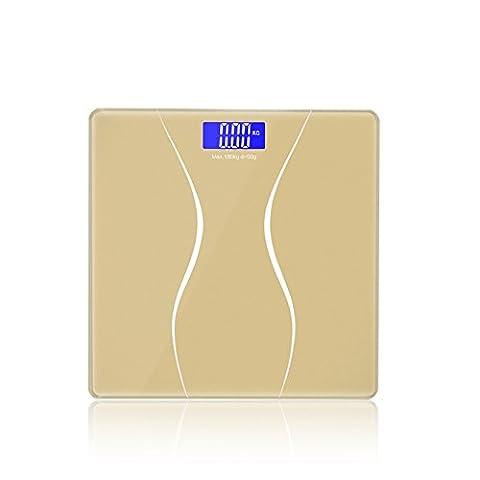 Zantec Digital Electronic LCD Body Weight Bathroom Waterproof Body Scale