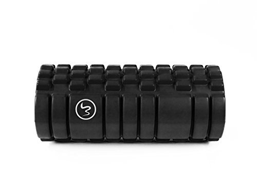 FA-Sports-Unisex-Adult-Mamba-Concept-Premium-Hollow-Foam-Roller-for-Massage-Training-Hard-14-x-14-x-33cm-Black