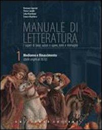 Manuale di letteratura. Antologia della commedia. Con espansione online. Per le Scuole superiori. Con CD-ROM: 1