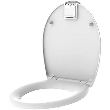 Abattant WC lumineux Nighty - Thermodur - Blanc