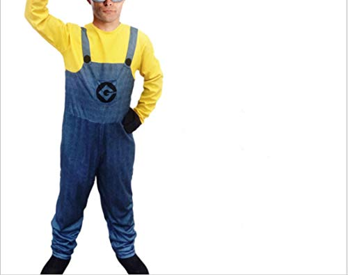 Me Herren Despicable Kostüm Gru - Mitef Little Yellow Men Corps Halloween Cosplay - - Medium