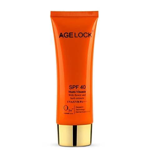 O3+ agelock SPF 40 MULTI-VITAMIN  available at amazon for Rs.830