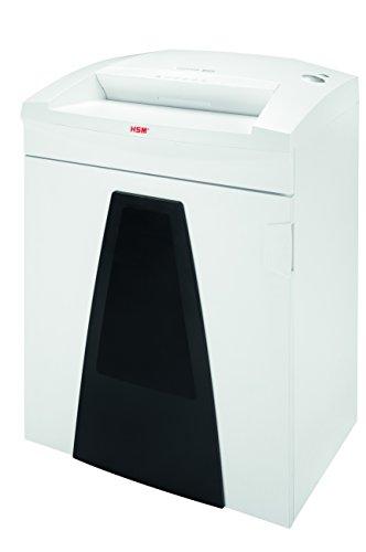 HSM SECURIO B35 0.78 x 11mm Particle-cut shredding 56dB Blanco - Triturador de papel (Particle-cut shredding, 40 cm, 130 L, 56 dB, 0.78 x 11, 3900 mm/min)