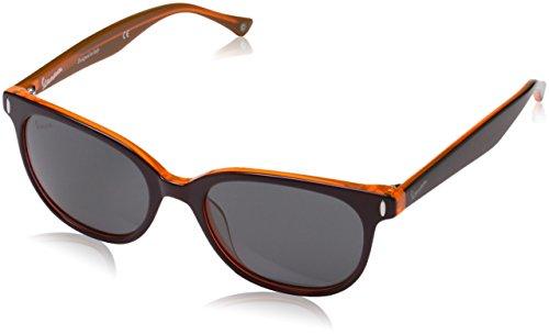 Vespa Eye Montures de lunettes Mixte Adulte, Noir (Nero/arancione) 52