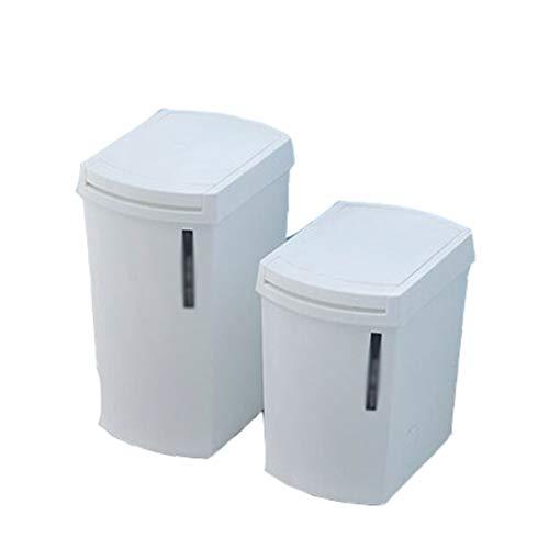 CXZS Trash can Papierkorb Eimer Küche Mülleimer Toilette (Farbe : White Packs) Deckle Pack