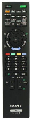 Télécommande d'origine pour Sony Bravia TV modèles kdl32ex403kdl37ex403kdl40ex403–RM-ED035–rmed035–de rechange