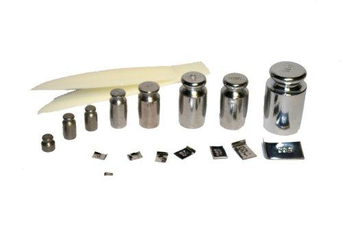 Dipse Justiergewichte/Gewichte Set - Kalibriergewicht für Digitalwaage oder Balkenwaage von 5mg bis 50g justiergewicht