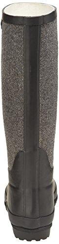 Aigle Venise Feutre, Bottes de Pluie femme Noir (Noir/Gris)