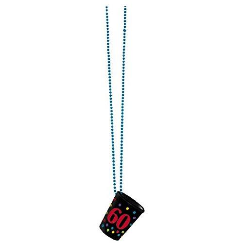 Amscan 60. Geburtstag Halskette Shot ()