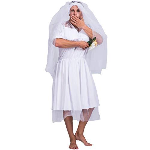 Einfach Kostüm Männlich - EraSpooky Junggesellenabschied Kostüm Herren Braut Männerballett Karneval