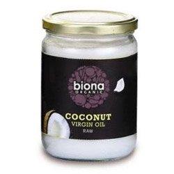 Biona Org Raw huile de coco vierge 400g x 1
