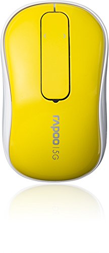 Rapoo T120P 5GHz Wireless Touch Optical Mouse Yellow lowest price