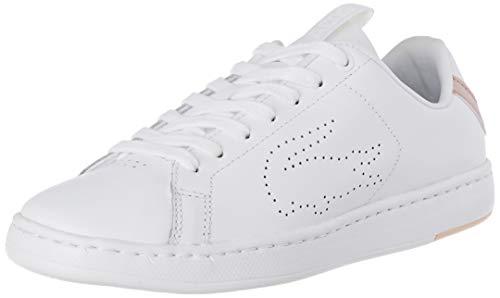Lacoste Damen Carnaby Evo Light-wt 1193 SFA Sneaker, Weiß (Wht/Lt Pnk 1y9), 39 EU