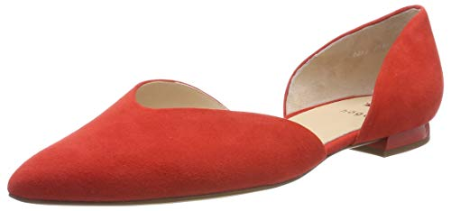 HÖGL Damen Tenderly Geschlossene Ballerinas, Rot (Scarlet 43, 37 EU