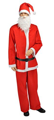 Weihnachtsmannkostüm Nikolauskostüm Weihnachtsmann Kostüm Nikolaus M L (Spiel Kostüm Machen Eigenen Sie Ihre)