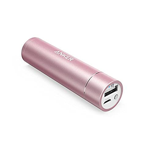 [Nouveauté] Anker PowerCore+ mini Batterie Externe Portable Ultra-Compacte 3350mAh pour iPhone 6s / 6s Plus / 6 / 6 Plus, iPad Air 2 / mini 3, Galaxy S6 / S6 Edge et autres smartphones