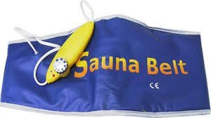 Sauna Slim Belt Slimmer (Free Size)  available at amazon for Rs.360
