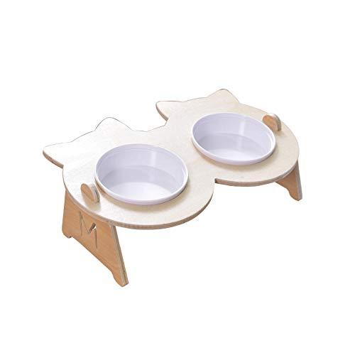 THFPetting Windeln & Bodenschutz/WindelnHundenapf Birkenständer Einzeltrinkschale Plastikschale Katzenfutter Schale Hundenapf Katzenschale Doppelschale -