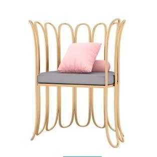 Butterfly-tische-stühle (XULEISFDS Haus und Garten/Möbel HG Nordic Minimalist Schlafzimmerstuhl Persönlichkeit Café Tisch und Stuhl Kunst Esszimmerstuhl (Butterfly Chair) (Farbe : Armchair))