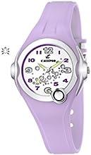 Calypso  watches watches K5562/4 - Reloj analógico de cuarzo para niña, correa de goma color morado