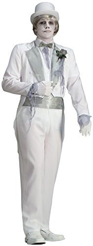 Forum Novelties, Inc Victorian Ghost Groom Standard (Erwachsene Ghost Groom Kostüme)