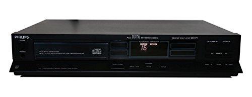 Philips CD471 CD Player in schwarz (Philips Cd-recorder)