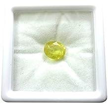 Vaibhav Gems 9.25 Ratti Unheated Untreated Ceylone Yellow Sapphire Pukhraj Stone Original Certified Natural Gemstone