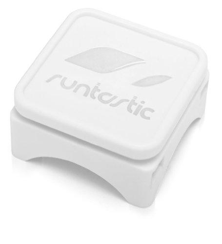 Runtastic Custodia Protettiva per Bicicletta per iPhone 4/4S/5, Bianco Bianco