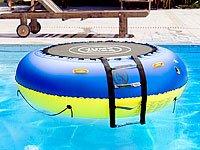 infactory Wassertrampolin: 4in1-Trampolin für Wasser und Garten (Aufblasbares Trampolin) - 8