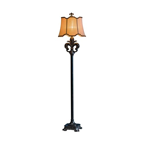 sy Vintage Drum Shade Stand Uplight Lampe für Wohnzimmer Schlafzimmer 0604P ()