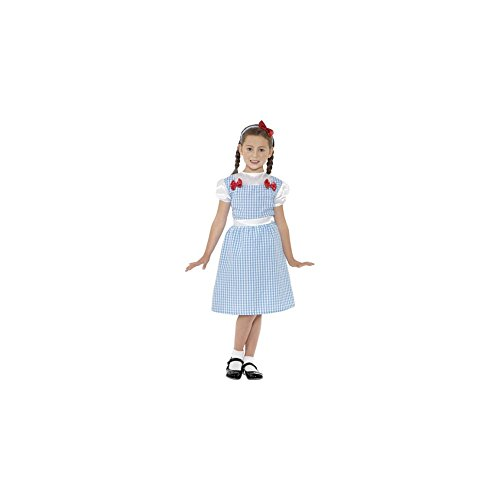 Smiffyu0027s Childrenu0027s Country Girl Costume Dress and Headband Colour Blue Size M 41102  sc 1 st  Amazon UK : dorothy costume amazon  - Germanpascual.Com