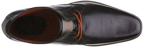Bugatti U81261 Herren Kurzschaft Stiefel Schwarz (schwarz 100)