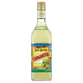 Jose Cuervo Authentic Margarita Mix Classic Lime 10% 70cl