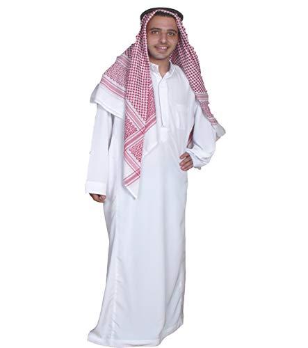 Egypt Bazar Dreiteiliges Araber Scheich Kostüm Scheichkostüm, Karnevalskostüm - Faschingskostüm-Größe: L, (52-54) ()