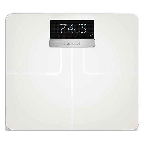 Garmin Index Körperanalysewaage, Gewichts und Körperanalysen, BMI, Körperfett, ANT+/Bluetooth Kompatibilität, 010-01591-11