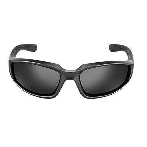 jasnyfall Motorrad-Schutzbrillen Winddicht Staubdicht Brillen Radfahren Brillen Outdoor Sports Brillen Gläser (schwarz)