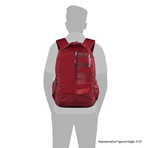 American Toruister Pop Nxt 03 Polyester Casual Backpack (Crimson) Image 6