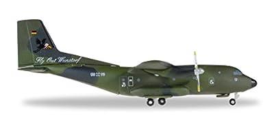 Herpa 529525 - Luftwaffe Transall C-160 LTG 62 Flyout Wunstorf, Flugzeug von Herpa Miniaturmodelle