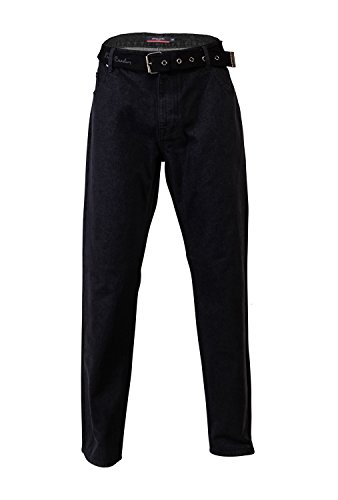 pierre-cardin-mens-new-season-regular-fit-belted-jeans-32-s-solid-black