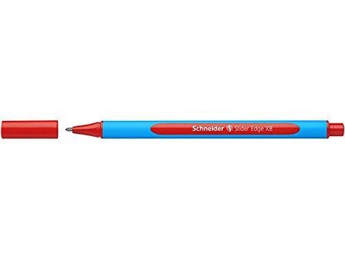 Schneider 152295 Kugelschreiber Slider Edge XB Lehrer-Korrekturset Etui, 4 Stück -