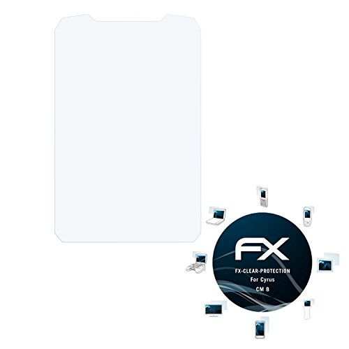 atFolix Schutzfolie kompatibel mit Cyrus cm 8 Folie, ultraklare FX Bildschirmschutzfolie (3X)