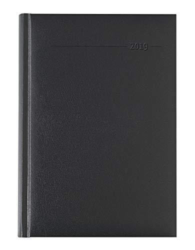 n schwarz 2019 - Bürokalender A5 / Cheftimer A5 - 1 Tag 1 Seite - 352 Seiten - Balacron-Einband ()