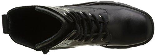 New Rock M 563 S1, Bottes Rangers Homme Noir (Black)