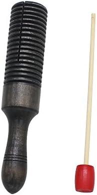 WINGONEER Sonido de cuerno de madera Niño Niños Musical Toy Instrumento de percusión