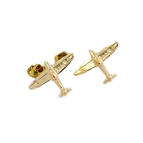 1 Paar Brosche Anstecknadel für Kragen Collar Anzug Hemd Kragen Pin