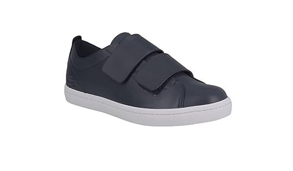 50e876a250c9 Lacoste Straightset Strap 118 1 CAW NVY WHT 735CAW0071092: Amazon.fr:  Chaussures et Sacs