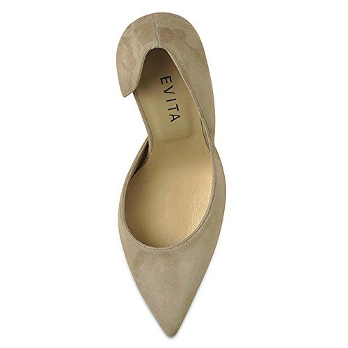Evita Shoes, Scarpe col tacco donna Beige (beige)