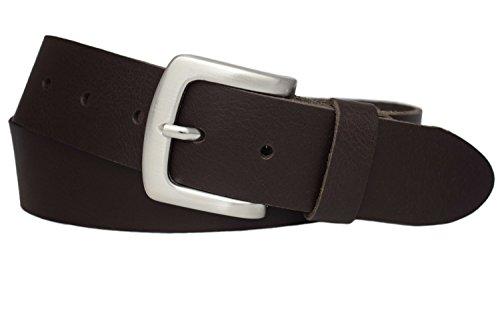 Ledergürtel Herren Damen echt Leder Jeans Gürtel Hosen 4cm Belt Riemen Vascavi